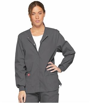 Dickies EDS Signature Snap Front Warm-up Jacket 86306